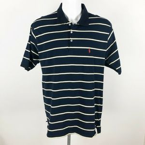 Polo Ralph Lauren Vtg Shirt Medium M Navy USA